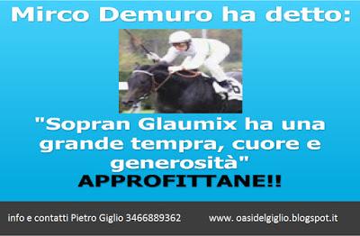 Apprezzamenti per Sopran Glaumix da Mirco Demuro
